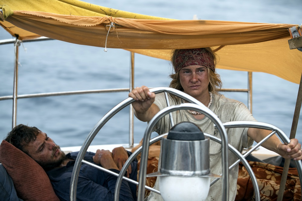 Sam Claflin and Shailene Woodley star in Adrift