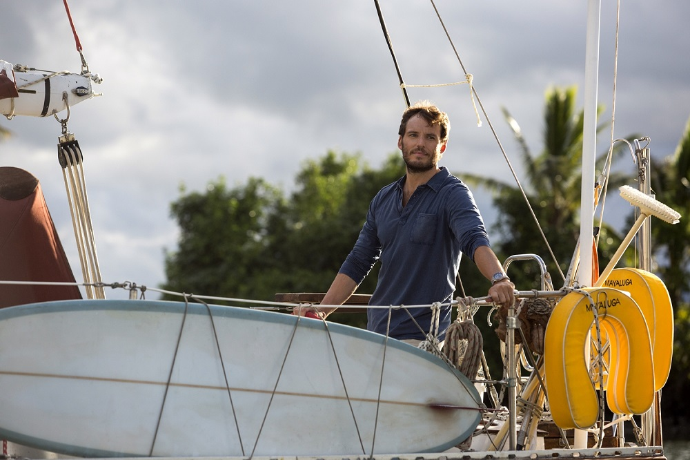 Sam Claflin stars in Adrift Courtesy of STXfilms