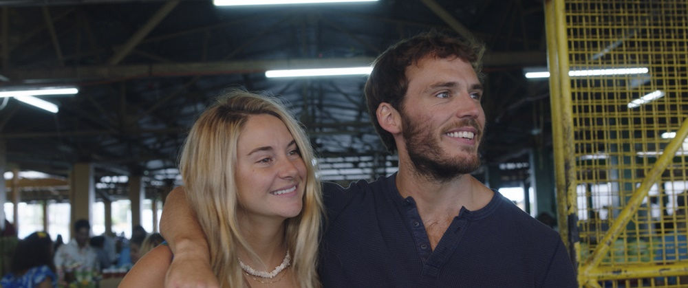 Shailene Woodley and Sam Claflin star in ADRIFTCourtesy of STXfilms
