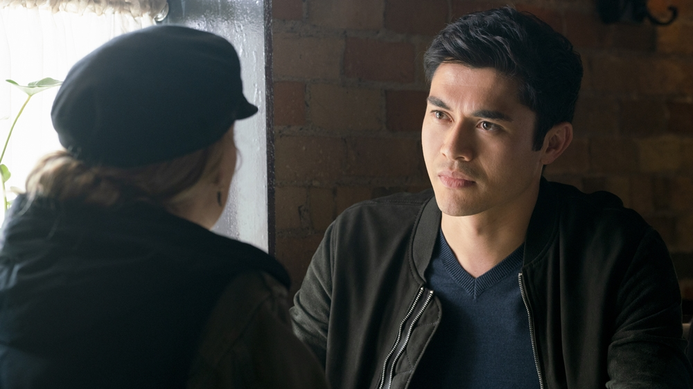 Henry Golding stars as 'Sean' in A SIMPLE FAVOR. Photo credit: Peter Iovino