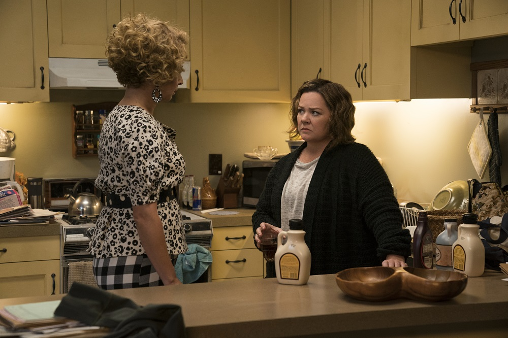Maya Rudolph and Melissa McCarthy in The Happytime Murders